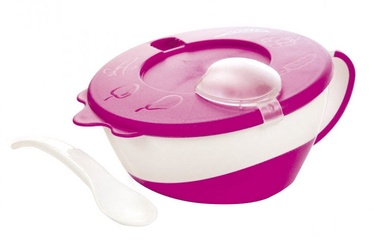 Canpol Babies Bowl With Spoon 31/406 Pink
