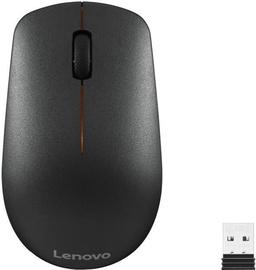 Arvutihiir Lenovo 400 Black, juhtmevaba, optiline