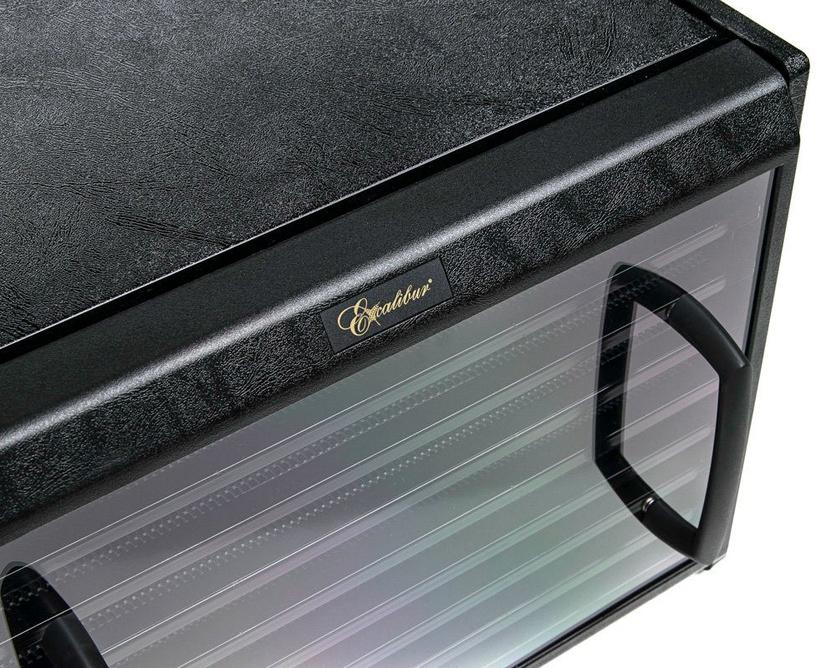 Excalibur 4900BCD 9 Trays Black