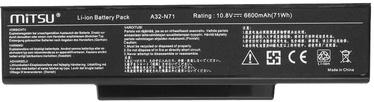 Mitsu Battery For Asus K72/K73/N73/X77 6600mAh