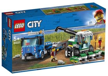 LEGO City Great Vehicles Harvester Transport 60223