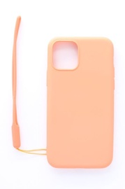 Evelatus Soft Touch Back Case With Strap For Apple iPhone 11 Pink