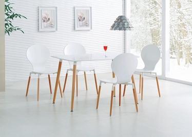 Обеденный стол Halmar Socrates White, 1200x800x740 мм