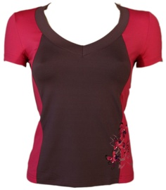 Bars Womens T-Shirt Brown/Pink 93 M