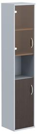 Skyland Imago Office Cabinet SU-1.4 Left Wenge Magic/Metallic