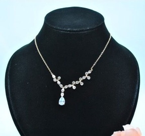 Vincento Necklace With Stellux Crystal CC-1049