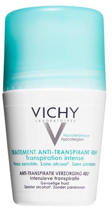 Vichy 48h Anti-Perspirant Intense Roll On Deodorant 50ml