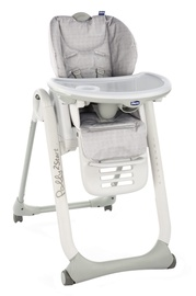 Chicco Polly 2 Start Highchair Happy Silver