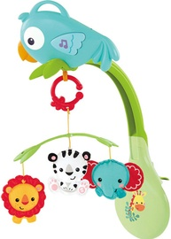 Fisher Price Rainforest Friends 3 In 1 Musical Mobile CHR11