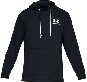 Under Armour Mens Sportstyle Terry Pullover Hoodie 1329291-001 Black L