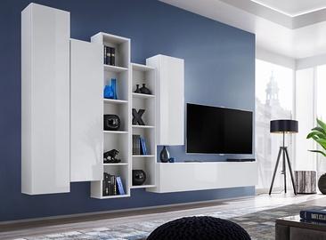 ASM Blox V Living Room Wall Unit Set White