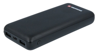 Swissten Black Core Power Bank 20000mAh