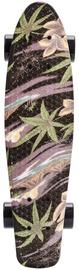 Meteor Multicolor Skateboard Flower 22606