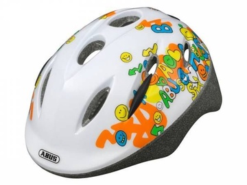 Abus Smooty Helmet Smily White M