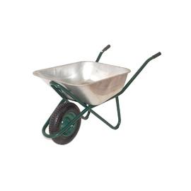 SN Wheelbarrow Profi 1027 110L Silver/Green