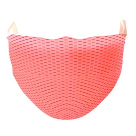 TakeMe Antibacterial 2-Layer Washable Slim Fit Face Mask /w Silver iOns Pink