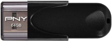 USB флеш-накопитель PNY Attaché 4 Black, USB 2.0, 64 GB