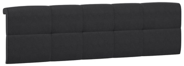 Black Red White Tetrix Headboard Upholstered Cover 140 Black