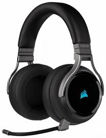 Kõrvaklapid Corsair Virtuoso RGB Wireless Carbon, juhtmevabad