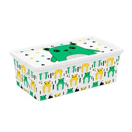 KIS C-Box Hipster Storage Box With Lid 6l