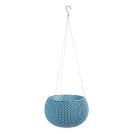 Curver Flower Pot Cozy S 229535 Misty Blue