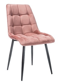Стул для столовой Signal Meble Chic Pink