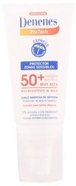 Päikesekreem Denenes Sensitive Areas SPF50+, 50 ml