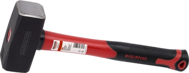 Kreator KRT902104 Club Hammer with Fiberglass Handle 2000g