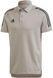 Adidas Mens Condivo 20 Polo Shirt ED9247 Grey S