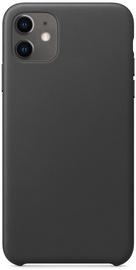 Hurtel Eco Leather Back Case For Apple iPhone 11 Black