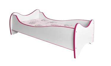 Lastevoodi Duo, roosa, 70 x 140 cm