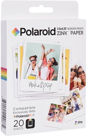 Polaroid 3x3 ZINK Photo Paper 20 Sheets