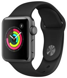 Apple Watch Series 3 38mm GPS Aluminum Space Gray Black