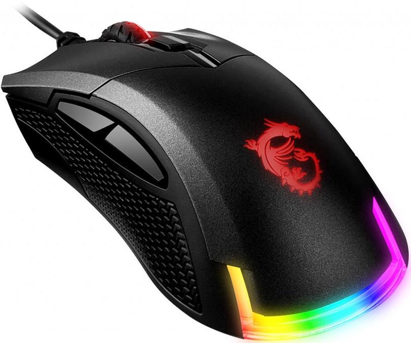 MSI Clutch GM50 Optical Gaming Mouse Black