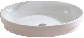 Ceramica Gala Ovalo 635x390mm Washbasin White