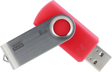 USB mälupulk Goodram Twister UTS3 Red, USB 3.0, 32 GB