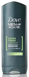 Dove Men Extra Fresh Shower Gel 400ml