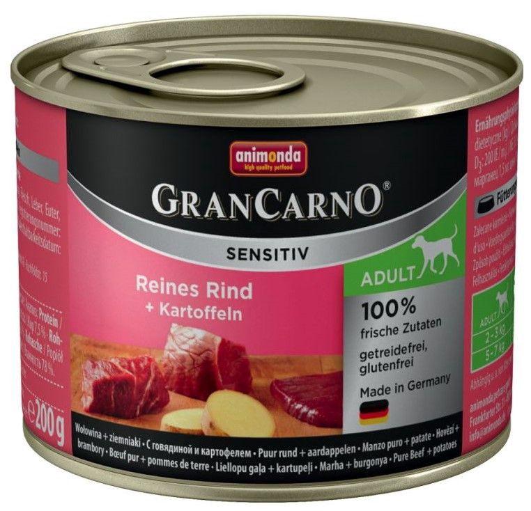 Animonda GranCarno Sensitiv Beef 200g