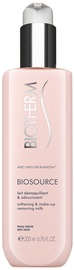 Biotherm Biosource Softening & Make-Up Removing Milk 200ml