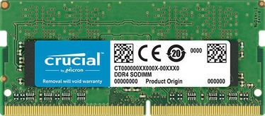 Operatiivmälu (RAM) Crucial CT8G4SFS8266 DDR4 (SO-DIMM) 8 GB CL19 2666 MHz