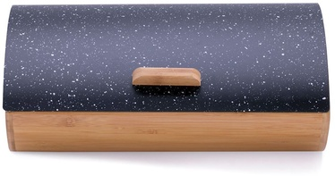 DecoKing Cosmic Bread Box Black Marble