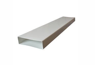 Akpo Flat Channel Ventilation Duct 22x9cm White