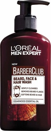 L´Oreal Paris Men Expert Barber Club Beard, Face & Hair Wash 200ml