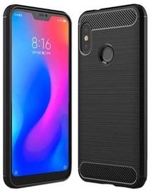 Hurtel Carbon Back Case For Xiaomi Mi A2 Lite Black