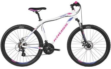 "Kross Lea 3.0 M 27.5"" White Pink Violet Glossy 19"