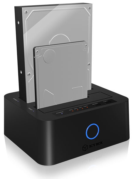 "RaidSonic Docking And Clone Station For 2.5""/3.5"" SATA HDDs/SSDs With JBOD USB 3.0"