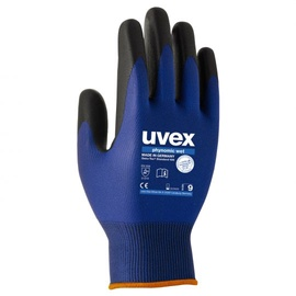 Uvex Universal Work Gloves Blue 10cm