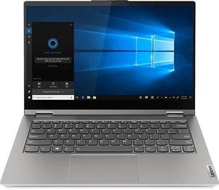 "Sülearvuti Lenovo ThinkBook 14s Yoga Gray 20WE0001MH PL Intel® Core™ i7, 16GB/512GB, 14"""
