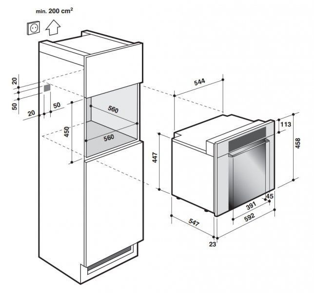 Integreeritav mikrolaineahi De Dietrich DME1135X