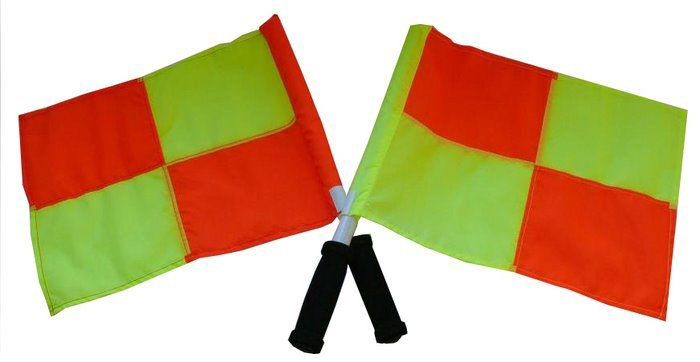 Select Referee Flag Set 2pcs